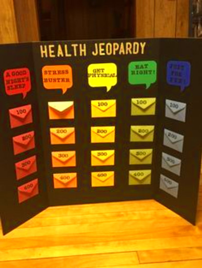 Health jeopardy board game! | nutritional ideas | Pinterest | A well, Health and Dr. who