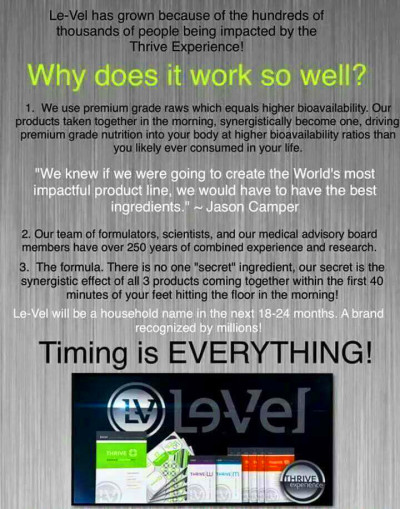 17 Best images about Le-Vel Thrive! on Pinterest | Health ...