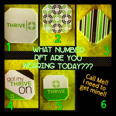 ... Thrive Experiment, Dft Today, Wear Today, Thrive Dft Patches, Thrive