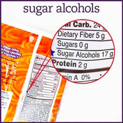 how to count sugar alcohols: total carb grams- 1/2 sugar alcohol grams ...