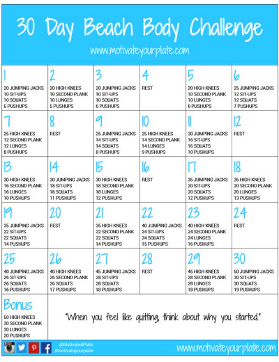 ... Challenge, Workout Challenge, 30 Day Workout Plan, Work Out, Full Body