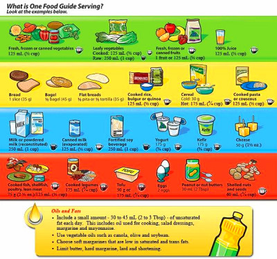 What is one Food Guide Serving? by Health Canada (Click image to read) | Eat Well | Pinterest ...