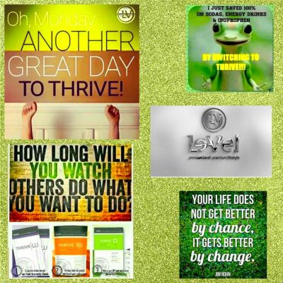 Good Monday a Morning!! It's a great day to Thrive! Stop ...