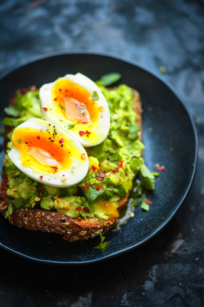 Avocado Toast with Foolproof Soft Boil Egg   Soft boiled ...