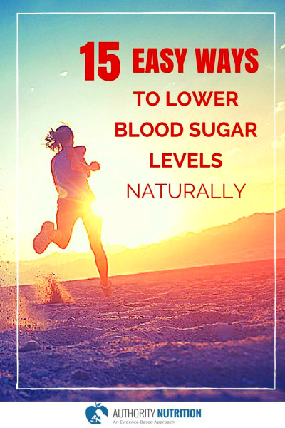 15 Easy Ways to Lower Blood Sugar Levels Naturally | Happy ...