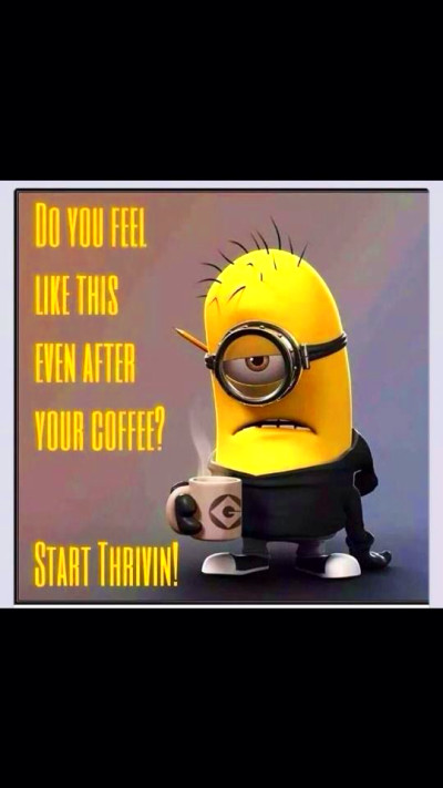 Don't drag through your day even after coffee and caffeine!!! Thrive ...