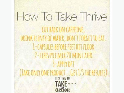Log In needed Start THRIVING Today!!!