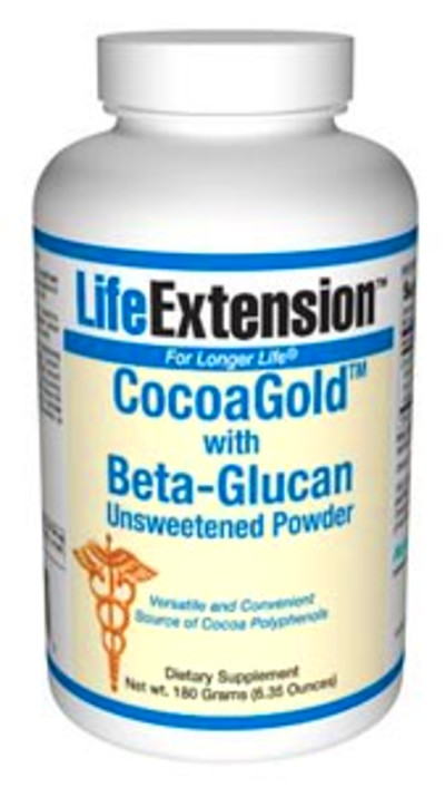 Cocoagold with Beta-Glucan (unsweetened) (180 grams powder ...
