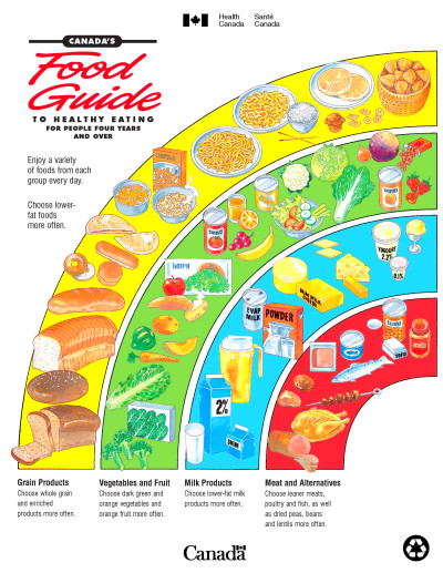 Food Pyramid 2015 Printable