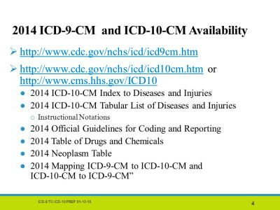 ICD-9-CM to ICD-10-CM Prep - ppt download