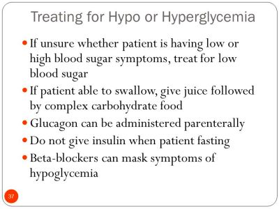 Agents Used to Treat Hyperglycemia and Hypoglycemia - ppt video online download