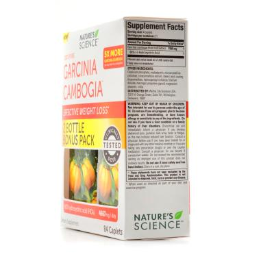Nature's Science 100% Pure Garcinia Cambogia Review - LabDoor