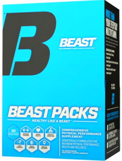 Beast Packs by Beast Sports Nutrition at Bodybuilding.com - Lowest ...