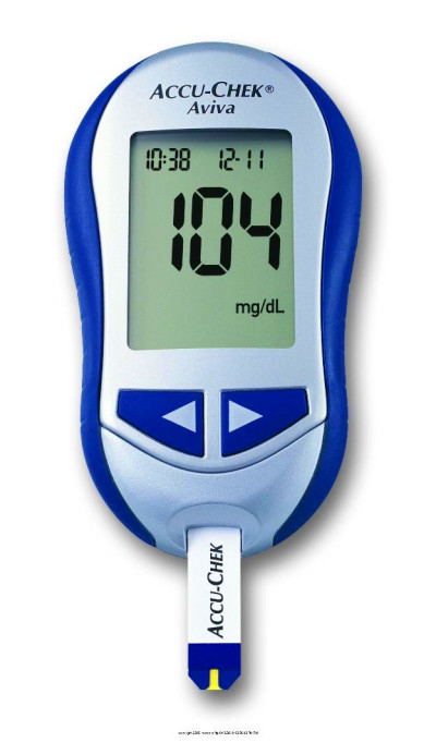 Continuous blood glucose monitoring with a Glucometer | Sugar Test ...