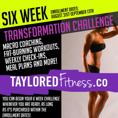 "Be the first to review ""Six Week Challenge"" Cancel reply"