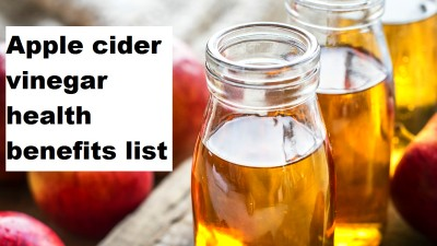 Apple cider vinegar health benefits list - Top 20 Home ...