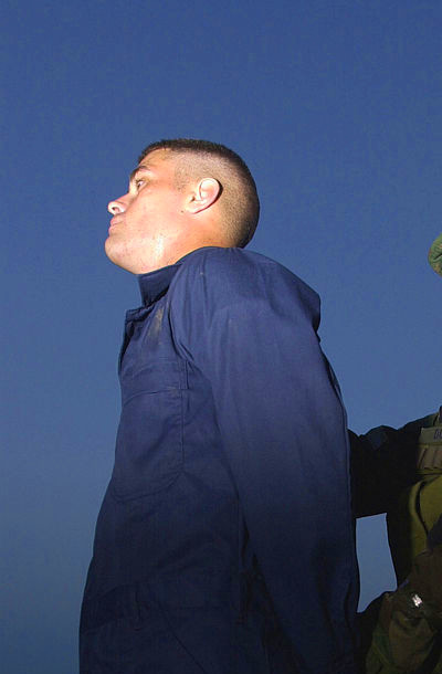 File:US Air Force (USAF) Airman First Class (A1C) Michael Dugan, a patrolman with the 31st ...