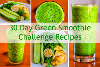 30 Day Green Smoothie Challenge Recipes | waysforweightloss
