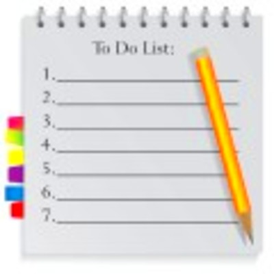 To Do List Template | Fillable | PDF | Word | Excel