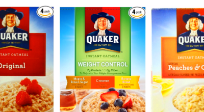 is quaker instant oatmeal good for you