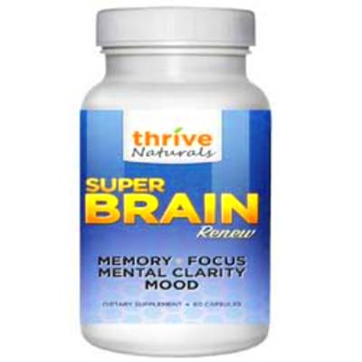 Thrive Naturals Super Brain Renew Review (UPDATED 2018): Does It Work?
