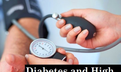 Diabetes and High Blood Pressure: It's Causes, Symptoms, Treatment, Diet