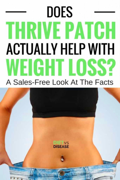 Does Thrive Patch Help With Weight Loss? A Sales-Free ...