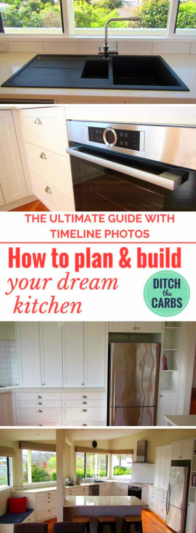 How to plan and build a new kitchen - a real food kitchen.