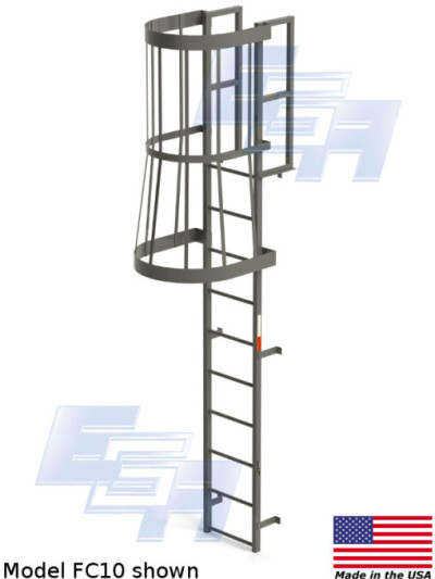 Fixed Vertical & Cage Ladders (FC & FV - SERIES) [Made in ...