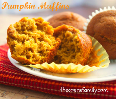 Foodista | Recipes, Cooking Tips, and Food News | Homemade Pumpkin Muffins