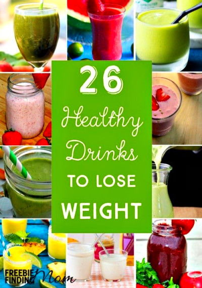 26 Healthy Drinks to Lose Weight