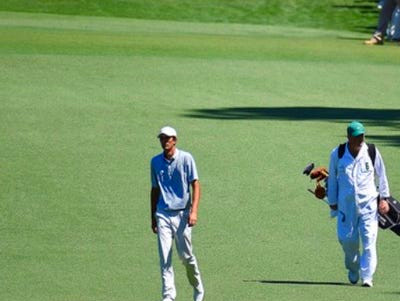 Caddie John Doherty of Red Bank (right) and Stewart Hageland make ...