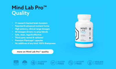 Mind Lab Pro Review | 100% Brainpower Nootropic