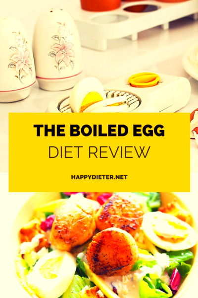 The Boiled Egg Diet Review - Happy Dieter