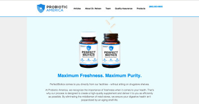 Perfect Biotics by Probiotic America Reviews - Is it a ...