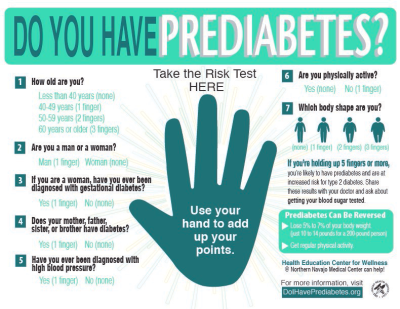 IHS Navajo Area Launches Prediabetes Awareness Campaign | May 2017 Blogs