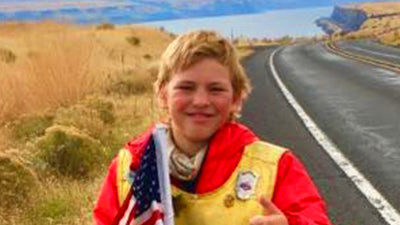 Boy, 11, Walks Across America to Find a Cure for Type 1 ...