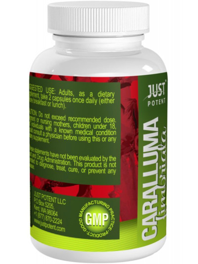 Caralluma Fimbriata Extract by Just Potent | 800mg per ...