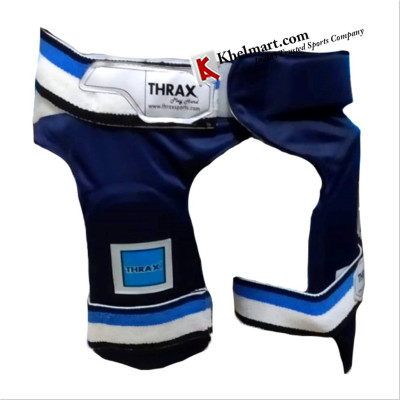 THRAX Thigh Guards Combo Blue Left Hand - Buy THRAX Thigh Guards Combo Blue Left Hand Online at ...