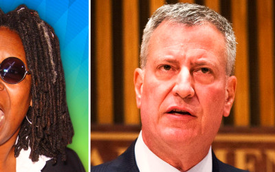 Whoopi Goldberg Rips Bill de Blasio Over NYC Bike Lanes ...