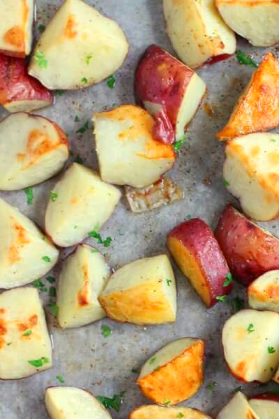 Roasted Red Potatoes | Mama Loves Food