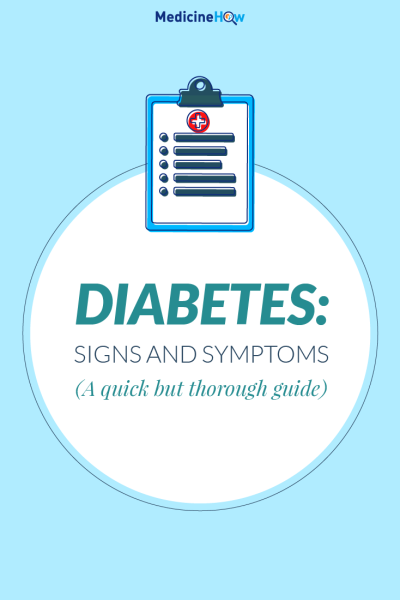 Signs and Symptoms of Diabetes (A quick but thorough guide)