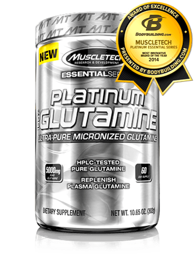 What makes Platinum 100% Glutamine Essential?