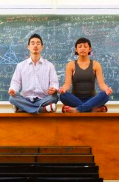 Meditating before a lecture improves students' performance