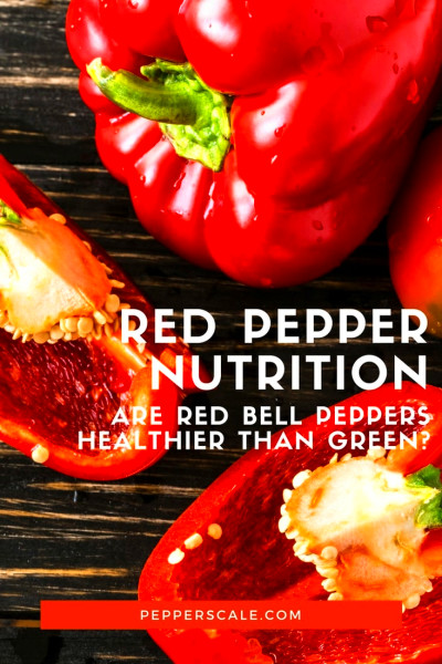 Red Pepper Nutrition: Are Red Bell Peppers Healthier Than Green? - PepperScale