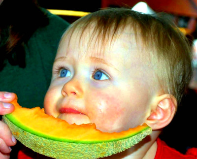 Baby Eating Free Stock Photo - Public Domain Pictures