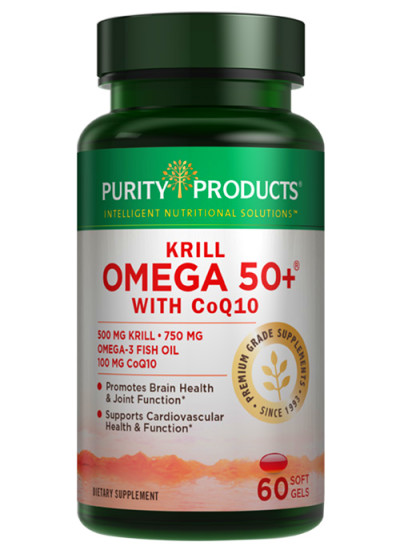 Krill Omega 50+ with CoQ10 | Purity Products