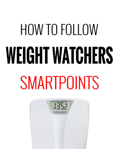 How to Follow Weight Watchers SmartPoints Program – Recipe ...