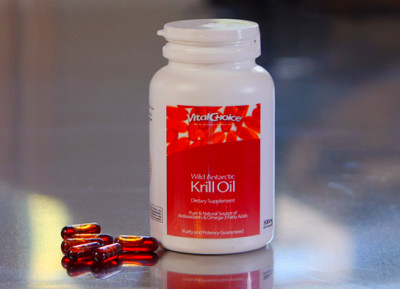 Vital Red Krill Oil (60 Softgels) - Royalty Health