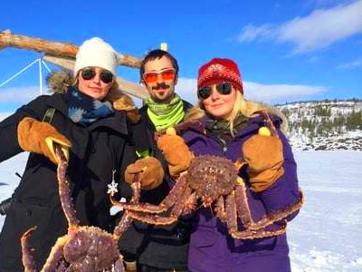 King Crab fishing 2 Day tour from Finnish Lapland to Kirkenes